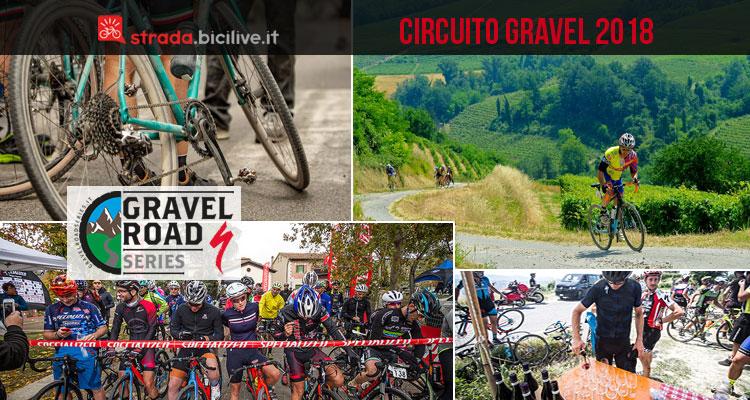 immagini dal circuito Gravel Road Series