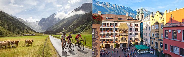 percorso cicloturistici in Tirolo