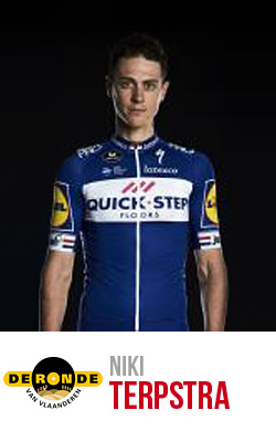 Niki Terpstra vincitore del Giro delle Fiandre 2018