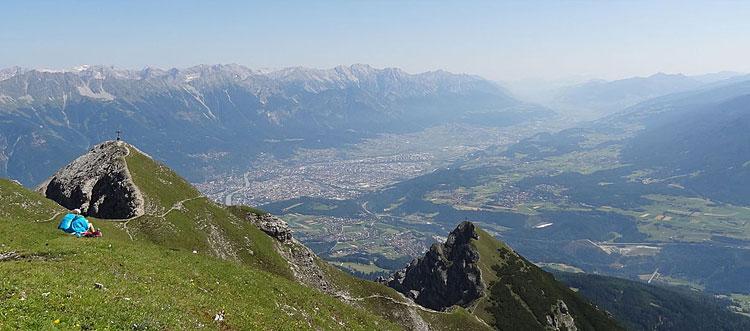 panorama del Tirolo, sede dei campionati del mondo di ciclismo