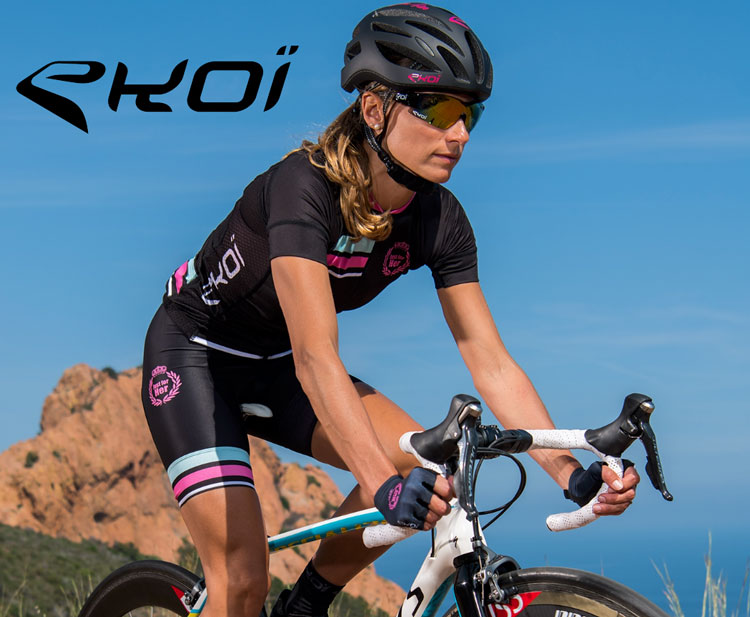 Ekoï presenta la nuova collezione di abbigliamento tecnico femminile per bici