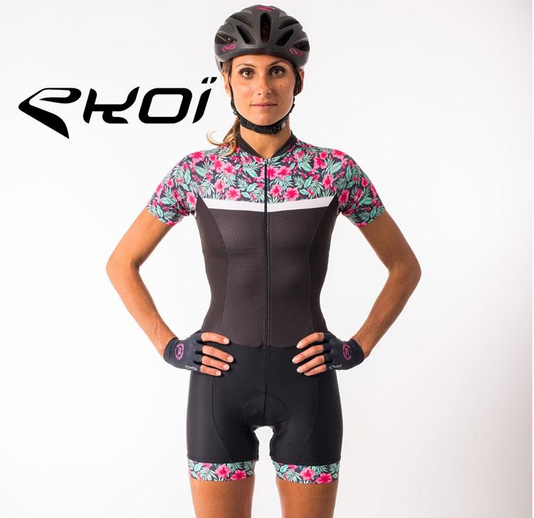 Il body da ciclista  ekoi della collezione femminile primavera estate 2018