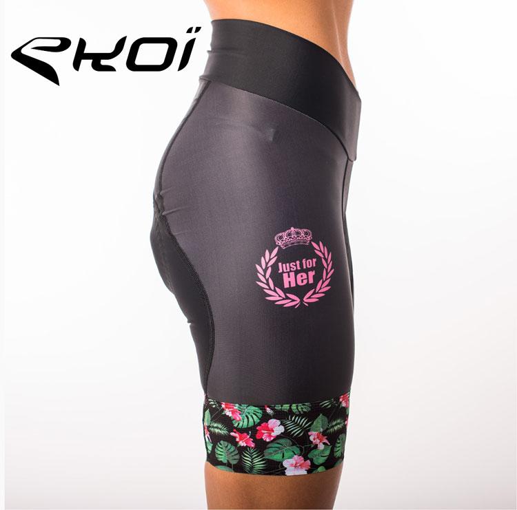 Pantaloncino da ciclista  ekoi della collezione femminile primavera estate 2018