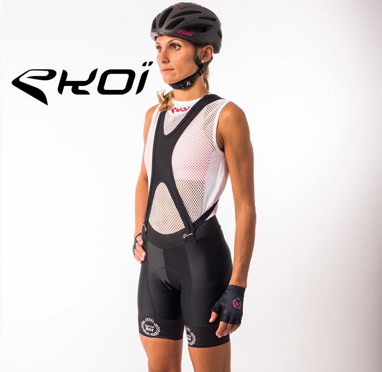 Salopette da ciclista  ekoi della collezione femminile primavera estate 2018