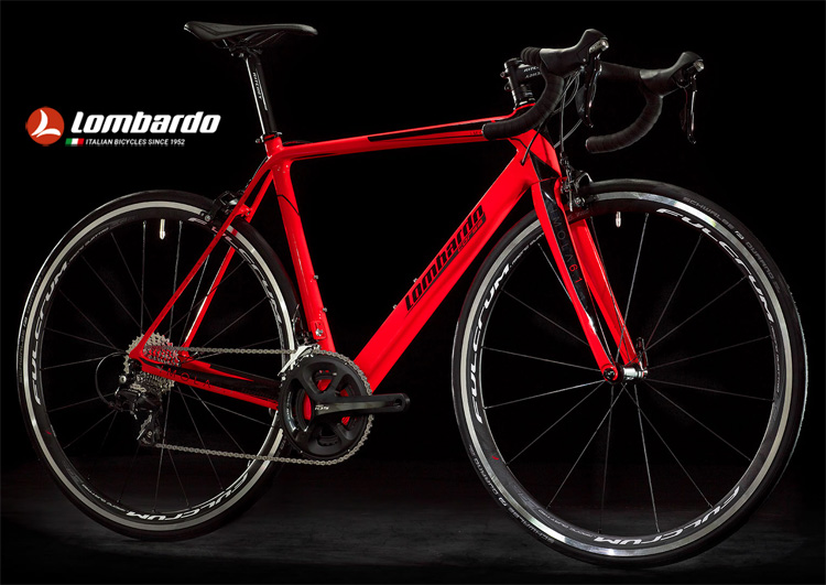 Una bici da corsa Lombardo Road Race Imola 6.1 del catalogo 2018