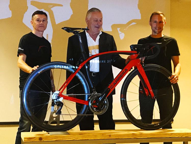la nuova bici da corsa Carrera Phibra Next