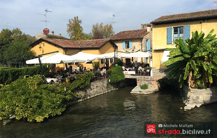 ristorante tipico lungo la ciclabile tra Peschiera e Mantova