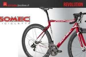 Il telaio di carbonio per biciclette da corsa Somec Revolution