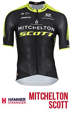 Maglia del team Mitchelton Scott