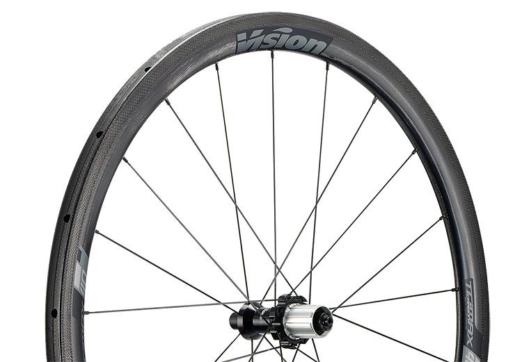 Vision Trimax Carbon 40 per tubolari