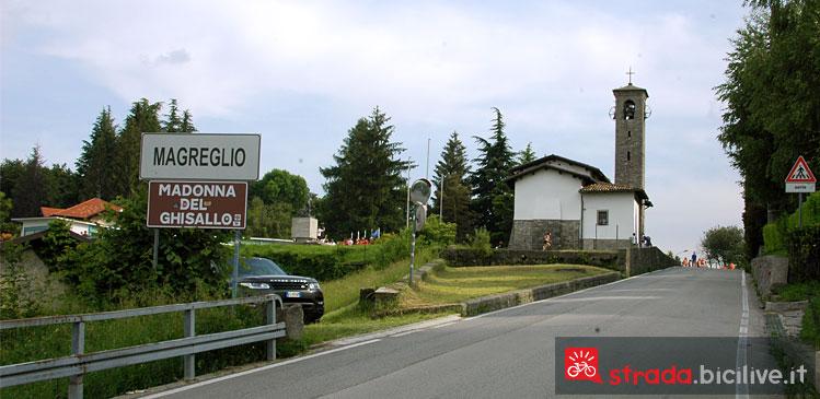 arrivo al santuario della Madonna del Ghisallo