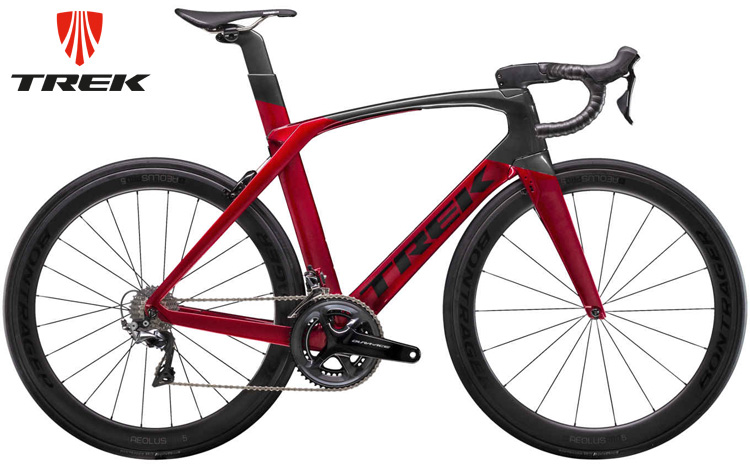 Bicicletta da corsa Trek Madone SLR8 dal catalogo 2019 strada