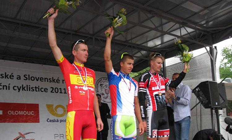 foto del podio del campionato di Slovacchia 2011