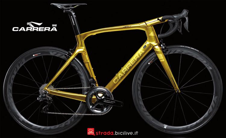 Una bicicletta da corsa Carrera AR01 Special  Edition catalogo 2019