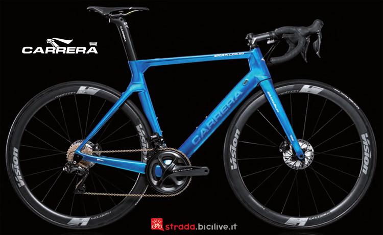 Una bicicletta da corsa Erakle Air Special Edition anno 2019 di Carrera