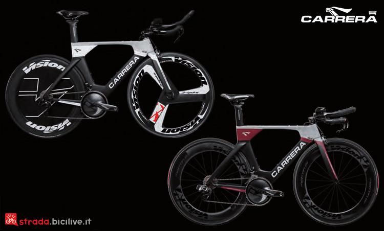 Due allestimenti della Carrera TTS02 dal catalogo 2019