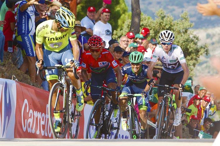 Froome e Quintana protagonisti alla Vuelta