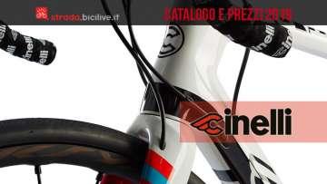 Cinelli bici da corsa: catalogo e listino prezzi 2019