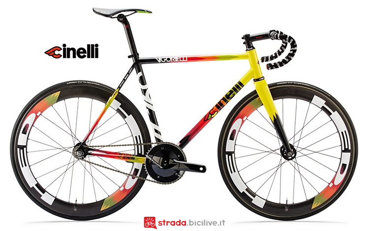 bici fixed Cinelli Vigorelli Track 2019