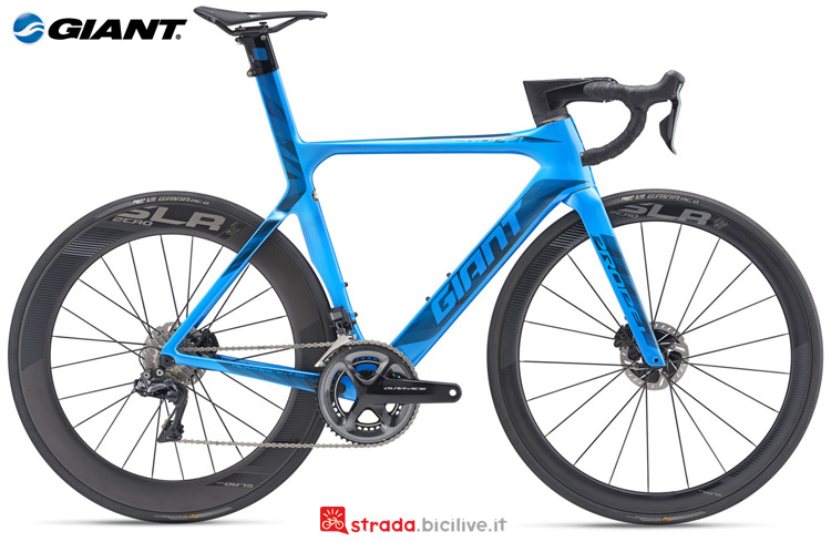 Una dbc Giant Propel Advanced SL 0 Disc 2019