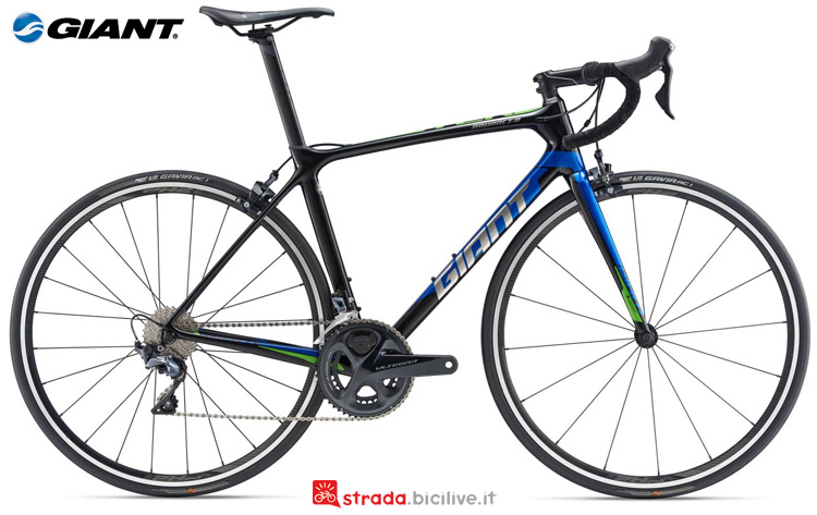 Una bicicletta Giant TCR Advanced 1 SE