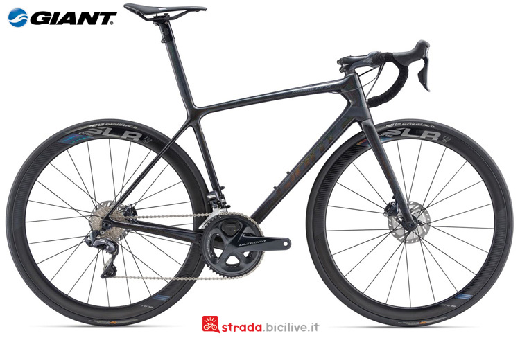 Una bdc Giant TCR Advanced SL 1 Disc
