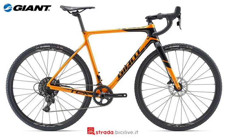 Una bici Giant TCX Advanced