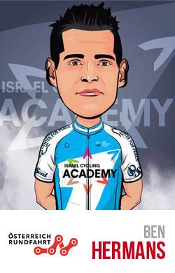 Ben Hermans primo al Giro d'Austria 2018
