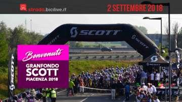 Granfondo Scott Piacenza 2018: domenica 2 settembre