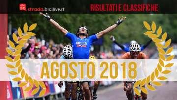 Matteo Trentin vince ad agosto 2018 i Campionati Europei di Glasgow