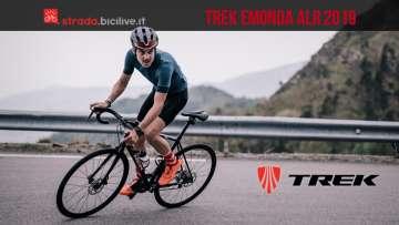 bicicletta in alluminio Trek Emonda ALR 2019