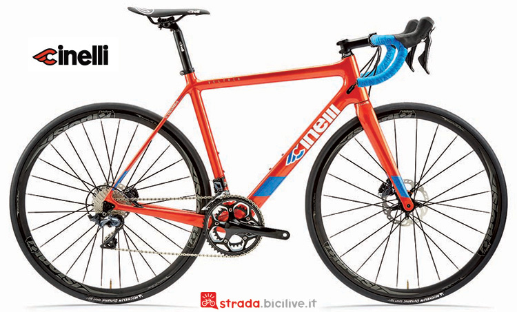 Cinelli Veltrix 2019 con freni a disco
