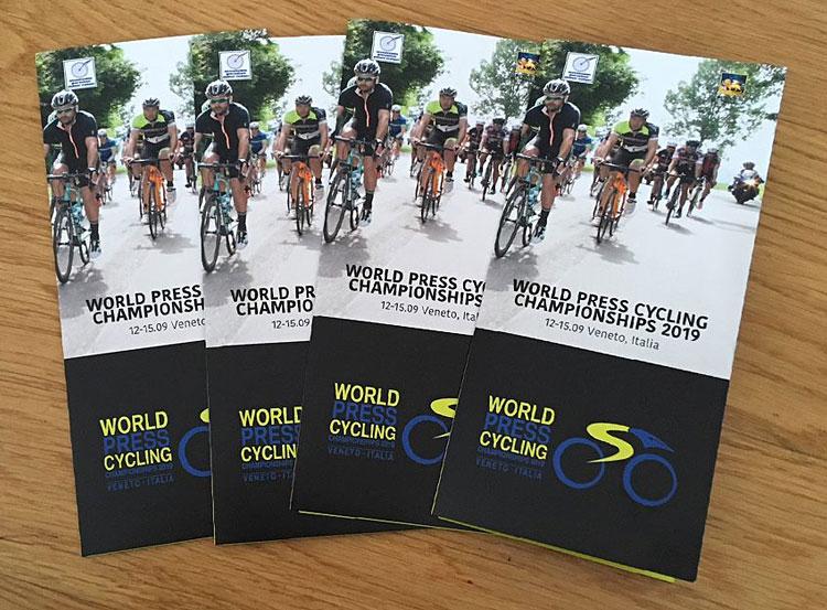 materiale promozionale WPCC in Veneto