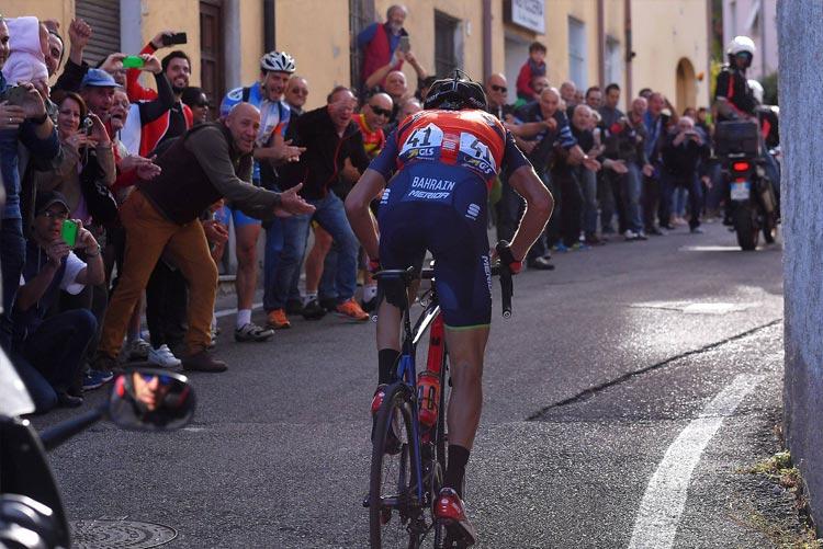 l'attacco vincente di Nibali a Civiglio durante il Lombardia