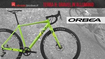 gravel in alluminio Orbea Terra H
