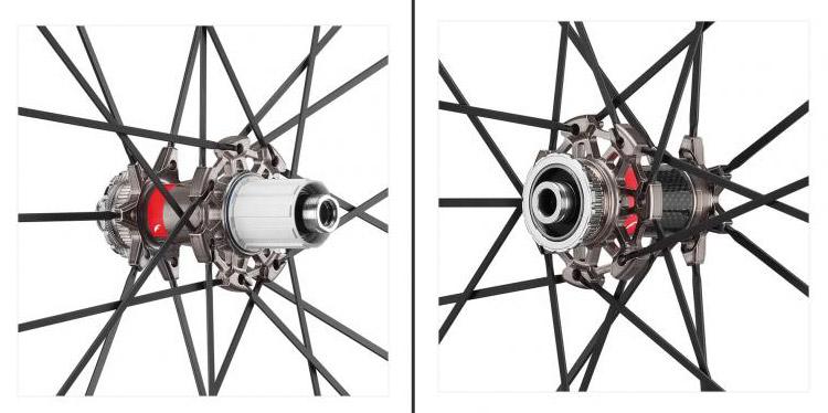 raggi e mozzi dei Fulcrum Racing Zero Carbon DB