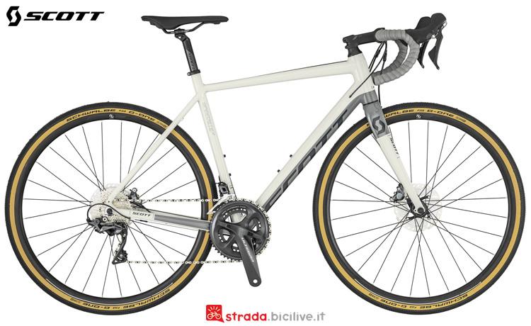 Una bicicletta per sterrati Scott Speedster Gravel 10 anno 2019