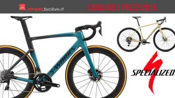 bici da corsa dal catalogo Specialized 2019