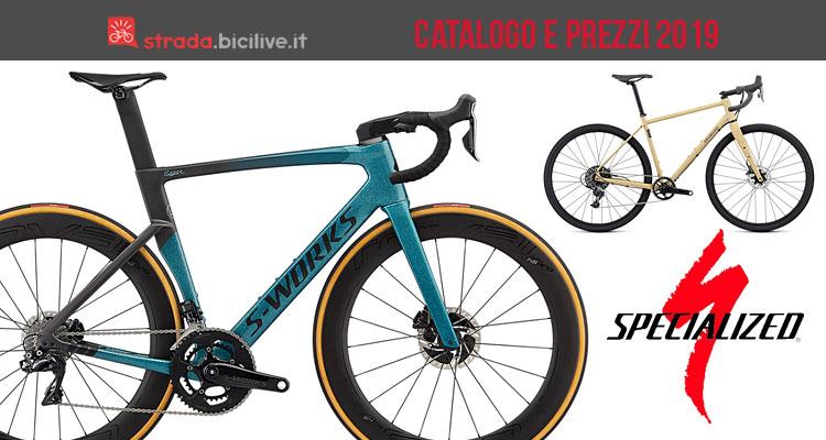 bici da corsa dal catalogo Specialized 2019