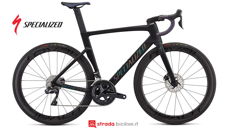 Specialized Venge Pro Disc con ruote Roval CL 50