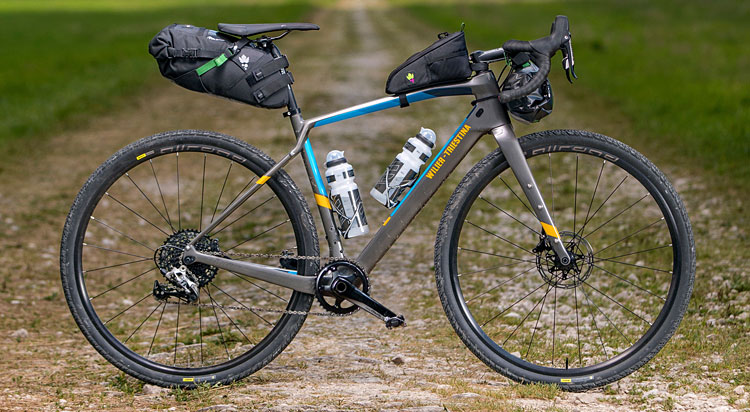 Wilier Jena per il bikepacking e il cicloturismo