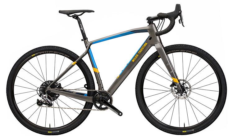 bici gravel d'alta gamma Wilier Jena