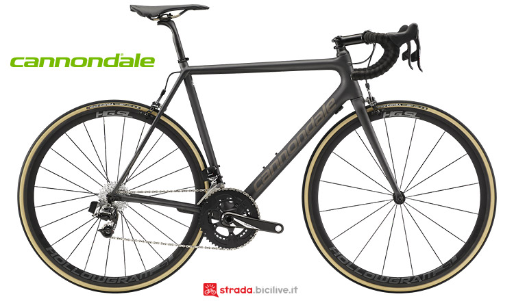 Cannondale Supersix Evo Carbon 2019 con SRAM Red Etap 2019