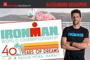 Ironman Kona 2018: intervista ad Alessandro Degasperi