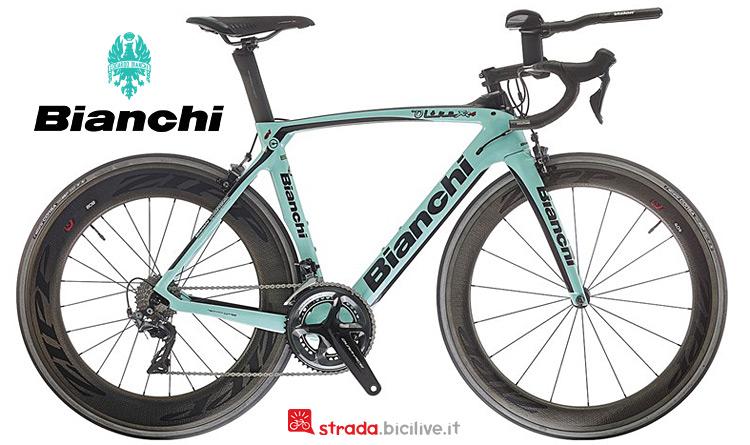 top di gamma Bianchi Oltre XR4 Triathlon