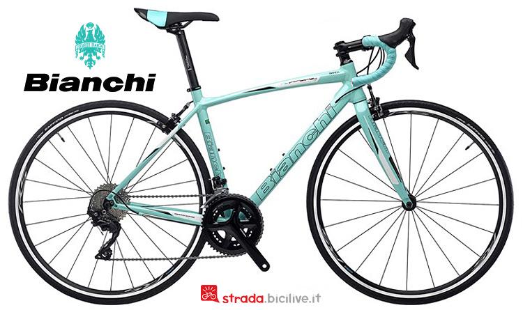 bici da donna Bianchi Via Niron 7 2019
