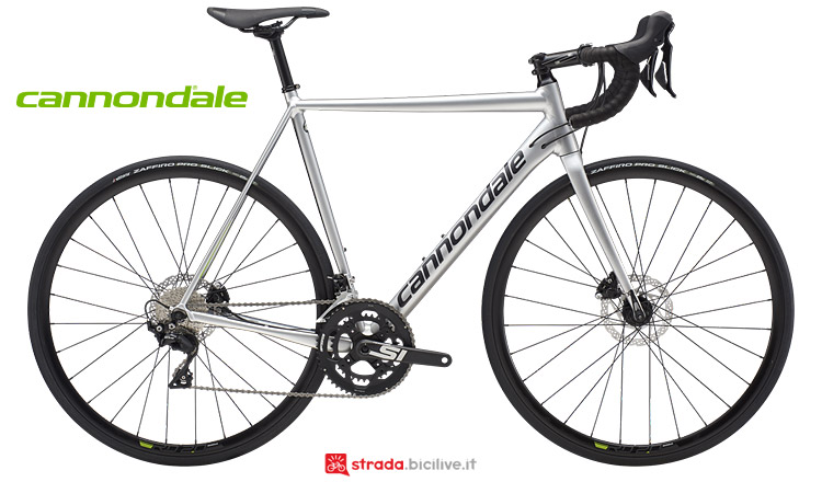 Cannondale CAAD12 2019 con freni a disco