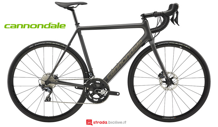 Cannondale SuperSix EVO Carbon Disc dal catalogo 2019