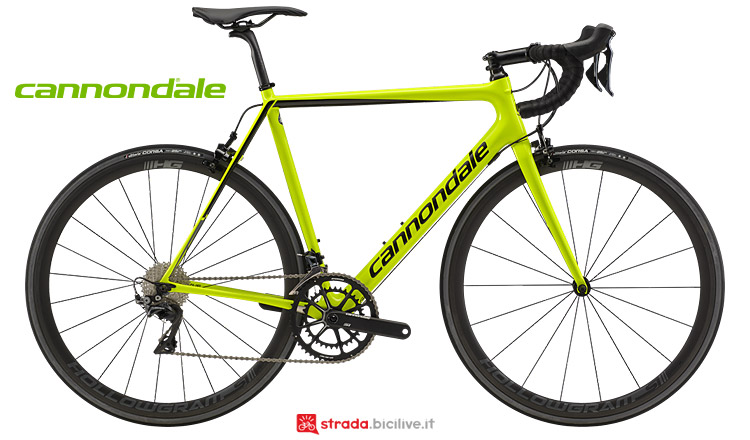 Cannondale SuperSix Evo Carbon con Shimano Dura Ace 2019