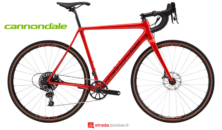 Cannondale SuperX SE 2019 con cambio SRAM Force1
